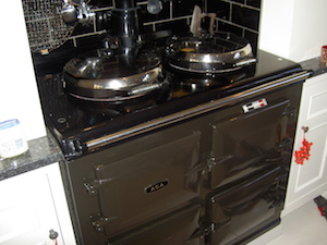 Repair and Service to an AGA GC MK3