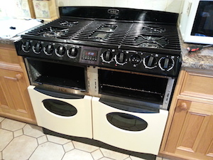 Repair to an AGA Masterchef Cooker
