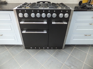 Repair and service to a Mercury cooker