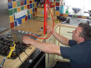 Gas Cooker Installation - Carrying out a Pressure Test