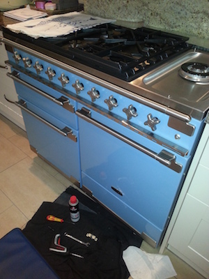 Service and Repair to a Rangemaster